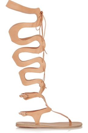 ANCIENT GREEK SANDALS Kori lace-up leather sandals