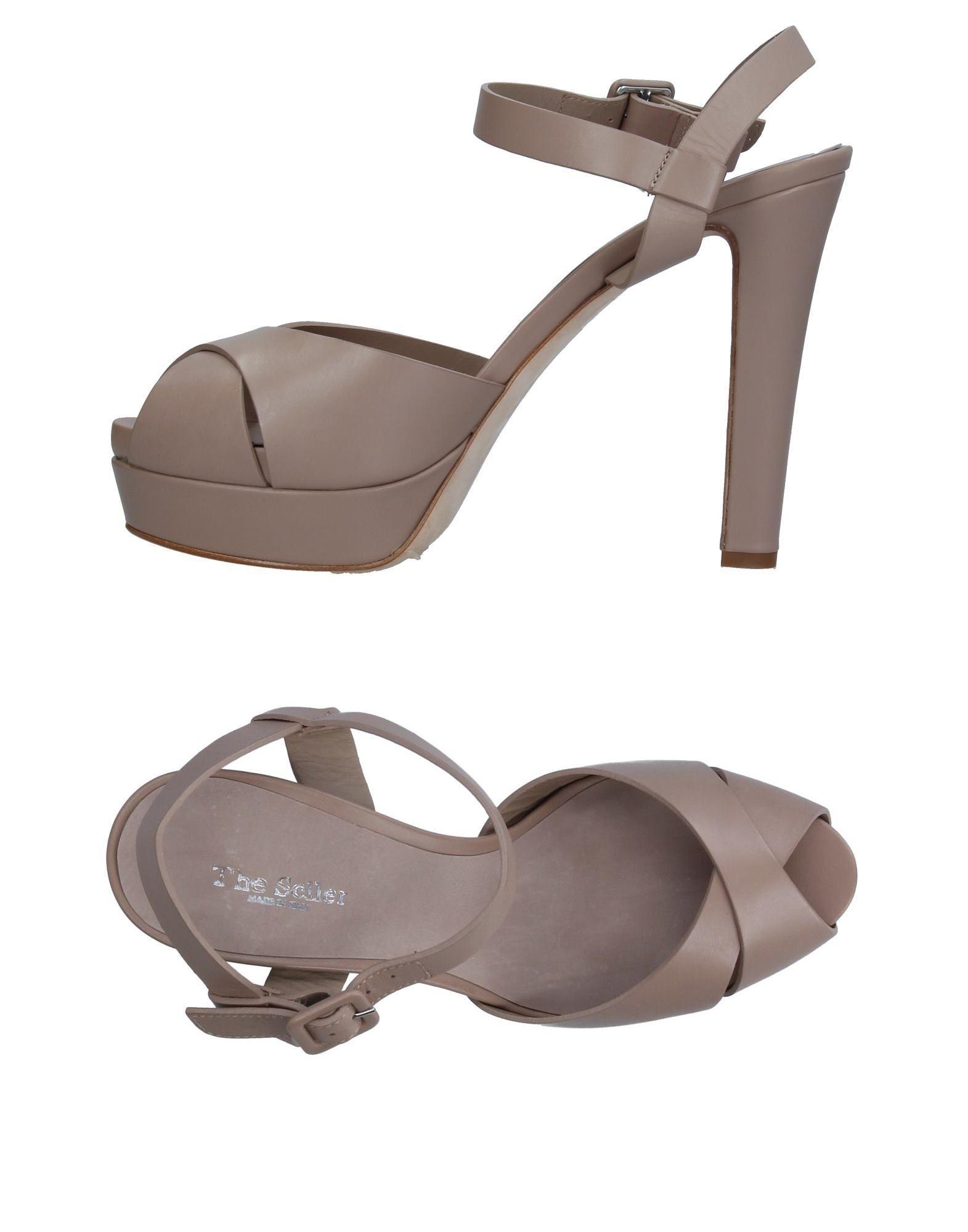 THE SELLER Damen Sandale Farbe Taubengrau Größe 13 jetztbilligerkaufen