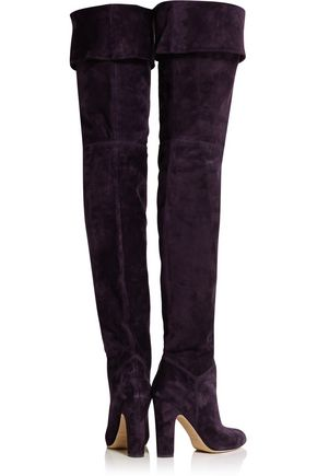 BRIAN ATWOOD Orage suede thigh boots
