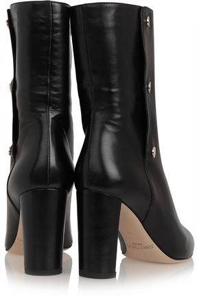 JIMMY CHOO LONDON Dayno leather ankle boots