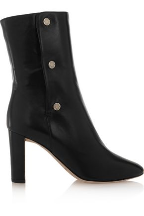 JIMMY CHOO Dayno leather ankle boots