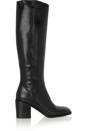 MAISON MARGIELA Leather knee boots