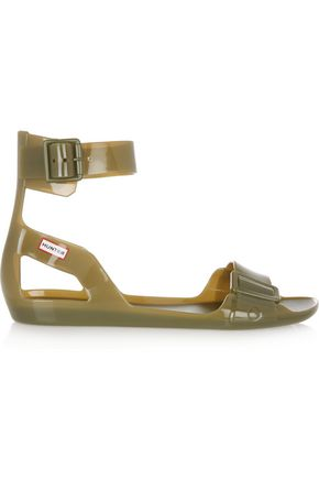 HUNTER Vinyl sandals