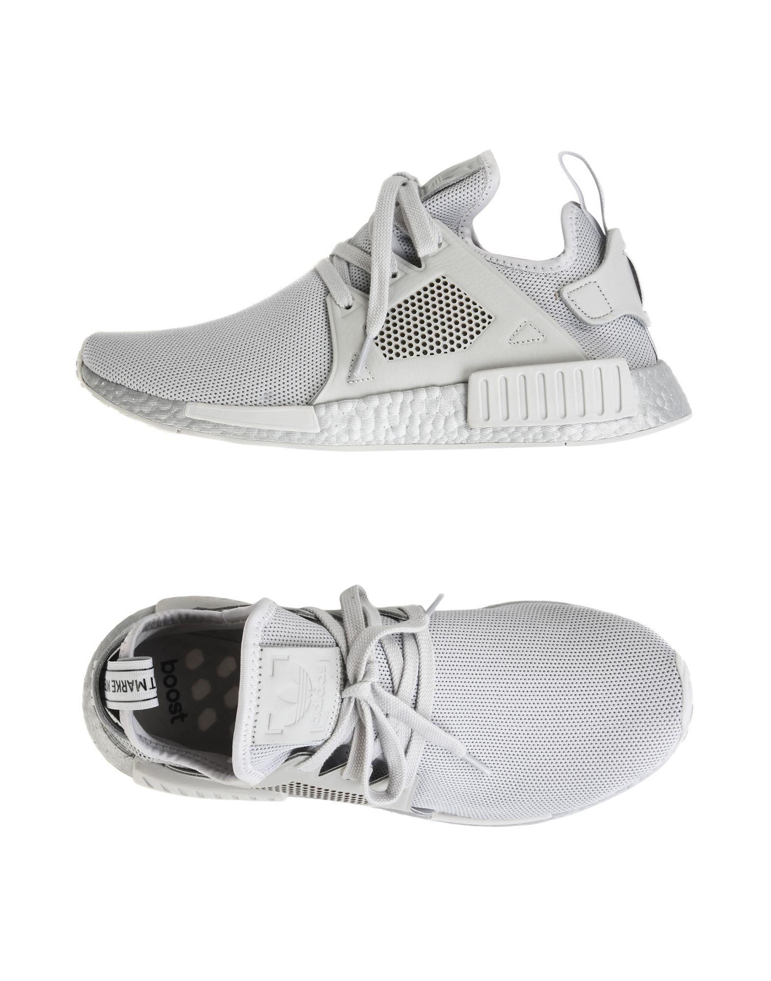 ADIDAS ORIGINALS Herren Low Sneakers & Tennisschuhe Farbe Grau Größe 9 - broschei