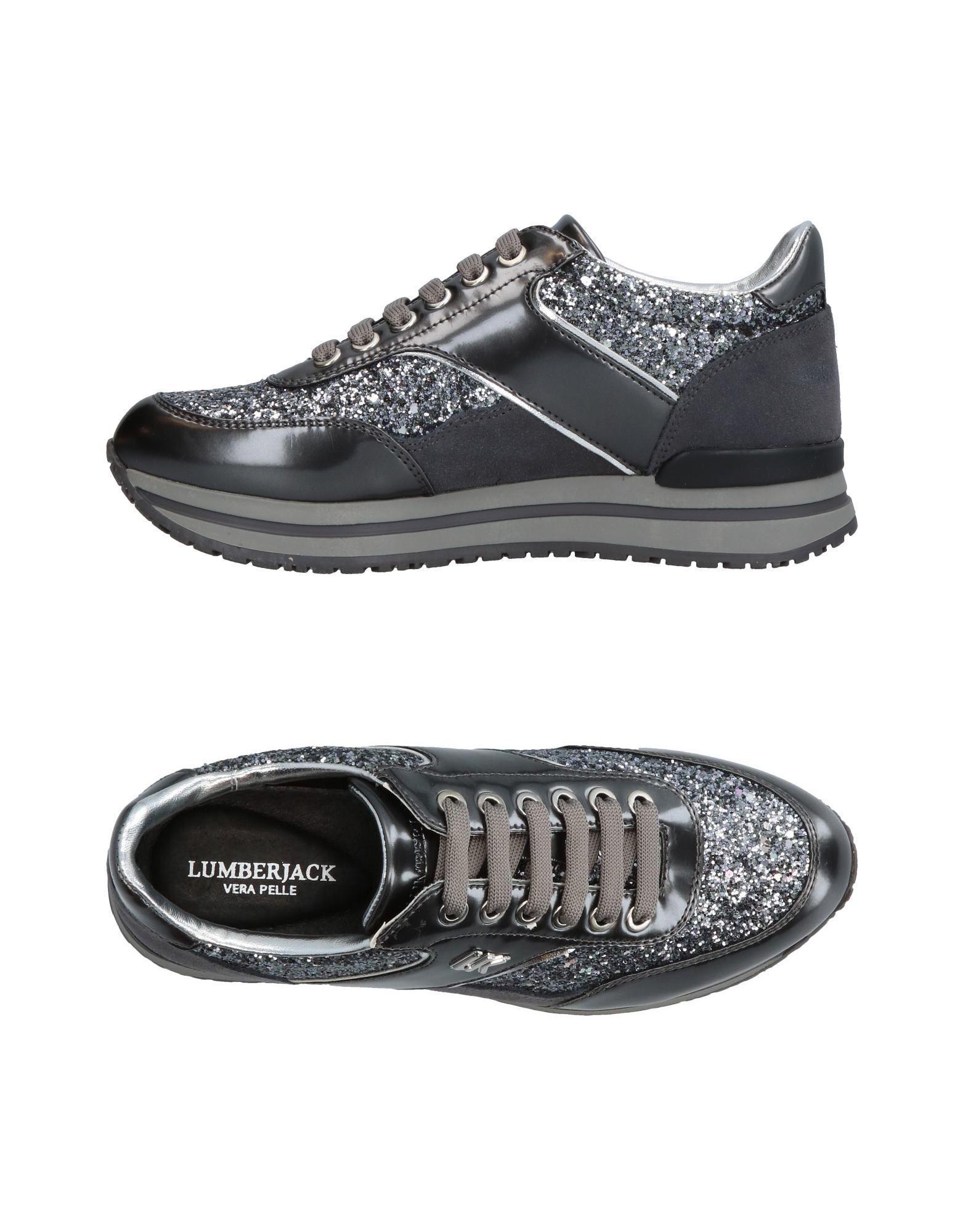 LUMBERJACK Damen Low Sneakers & Tennisschuhe Farbe Blei Größe 9 jetztbilligerkaufen