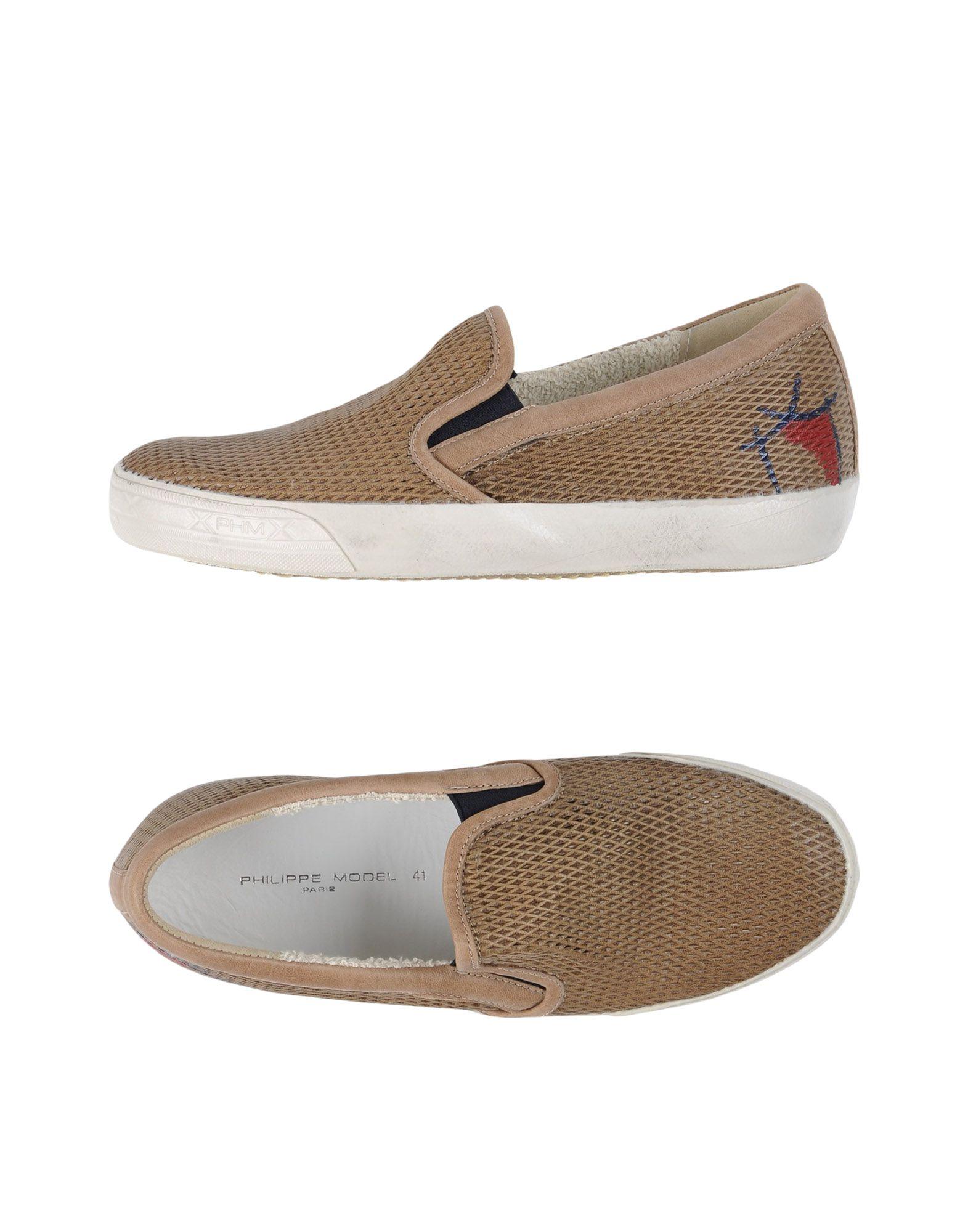PHILIPPE MODEL Herren Low Sneakers & Tennisschuhe Farbe Khaki Größe 9 jetztbilligerkaufen