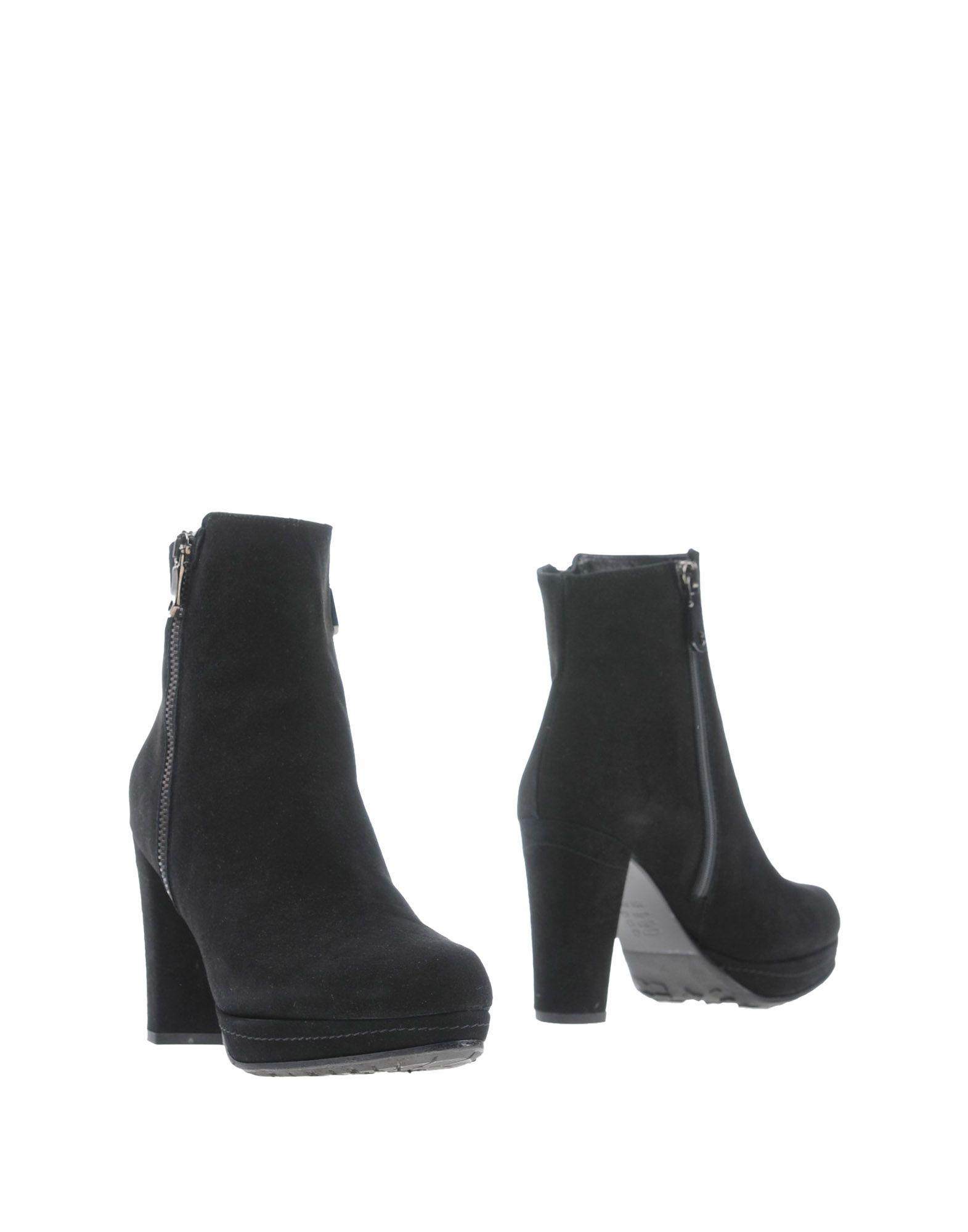 GAIA BARDELLI Damen Stiefelette Farbe Schwarz Größe 7