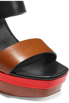 MICHAEL KORS COLLECTION Ettie color-block leather sandals