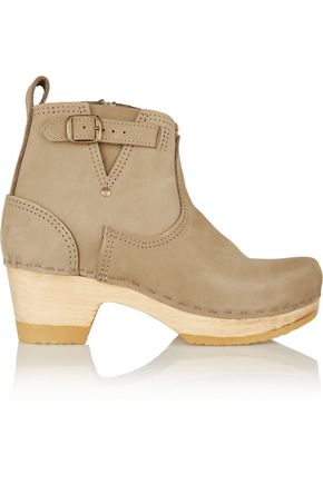 No. 6 STORE Nubuck ankle boots