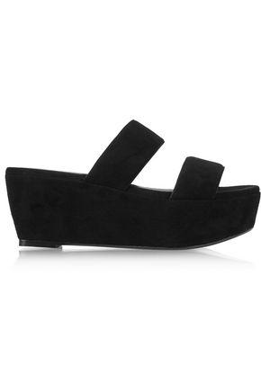ROBERT CLERGERIE Frazziai suede platform sandals