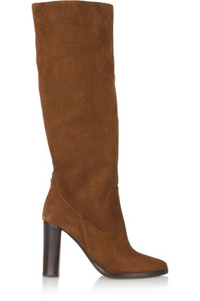 JIMMY CHOO LONDON Honor suede knee boots
