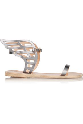 ANCIENT GREEK SANDALS Ikaria Lace leather wing sandals