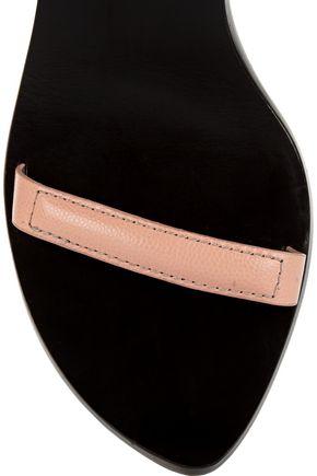 ALEXANDER WANG Ilva textured-leather sandals