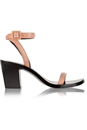 ALEXANDER WANG Ilva textured-leather sandals