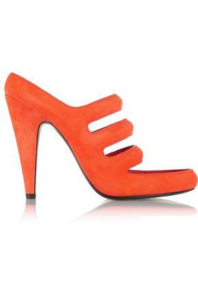 ALEXANDER WANG Chelsie cutout suede sandals