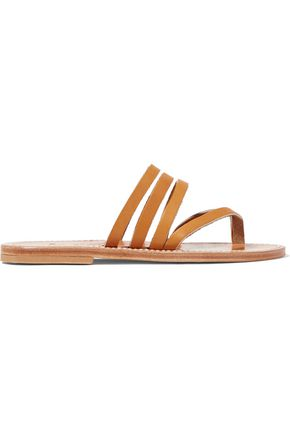 K.JACQUES ST. TROPEZ Sycomore leather sandals