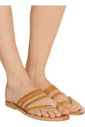 K.JACQUES ST. TROPEZ Sycomore leather sandals