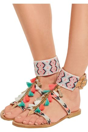 MABU by MARIA BK Embellished leather sandals