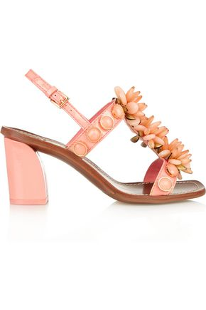 TORY BURCH Tallulah embellished leather sandals