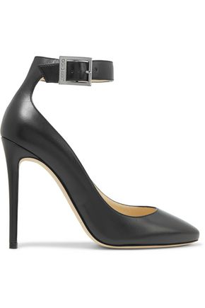 JIMMY CHOO Helena leather pumps