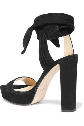JIMMY CHOO Kaytrin suede platform sandals