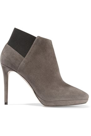 JIMMY CHOO LONDON Talula suede ankle boots