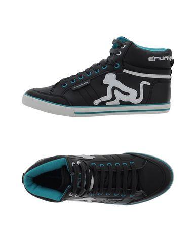 Фото - Высокие кеды и кроссовки от DRUNKNMUNKY черного цвета