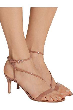 GIANVITO ROSSI Patent-leather sandals