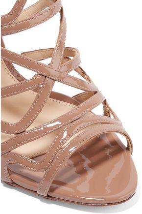 ALEXANDRE BIRMAN Nim cutout patent-leather sandals