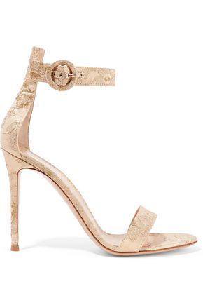 GIANVITO ROSSI Portofino brocade sandals