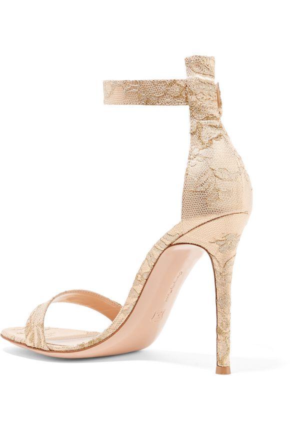 Portofino brocade sandals | GIANVITO ROSSI | Sale up to 70% off | THE OUTNET