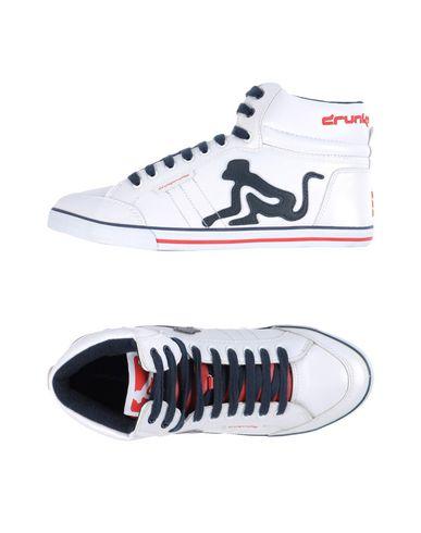 Drunkymunky Chaussures NEW PHOENIX Petite Sneakers Homme Blanc Drunkymunky soldes 5mvuPY