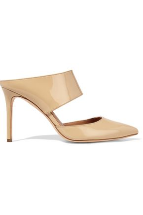 HALSTON HERITAGE Isabella patent-leather pumps