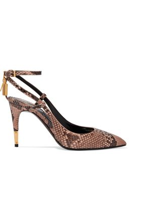 TOM FORD Python pumps