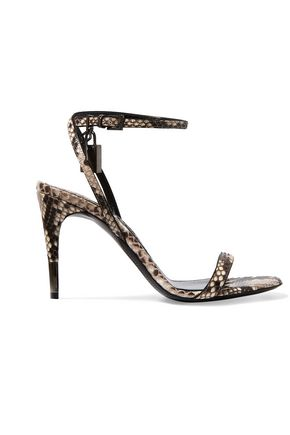TOM FORD Python sandals