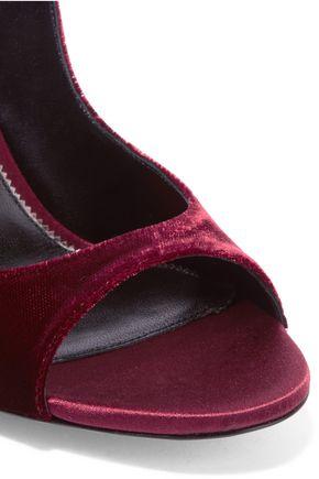 TOM FORD Velvet and satin sandals