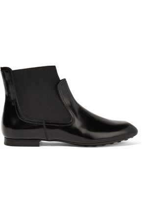 4daa066bc0203 Glossed-leather ankle boots | TOD'S | Sale up to 70% off | THE OUTNET