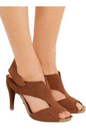 PEDRO GARCÍA Yuri cutout suede sandals