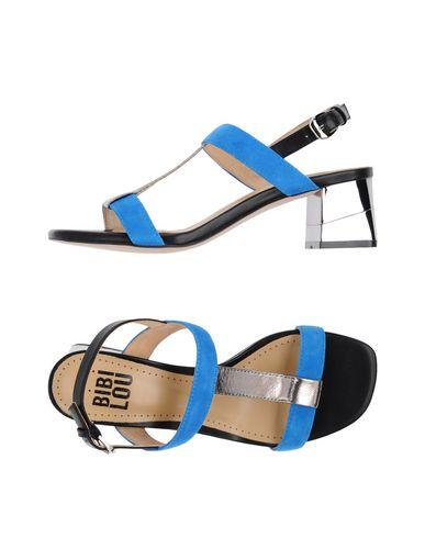 Фото - Женские сандали BIBI LOU ярко-синего цвета