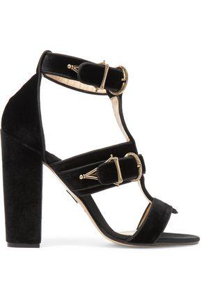 PAUL ANDREW Aslihan velvet sandals
