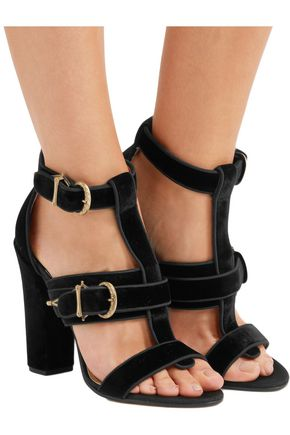 PAUL ANDREW Aslihan velvet sandals