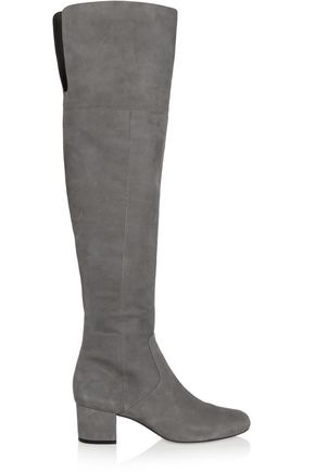 SAM EDELMAN Elina suede over-the-knee boots
