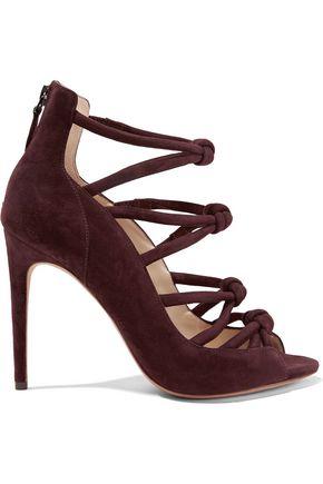 ALEXANDRE BIRMAN Knot suede sandals