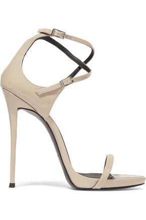GIUSEPPE ZANOTTI Darcie patent-leather sandals