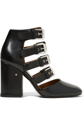 LAURENCE DACADE Maja buckled leather pumps
