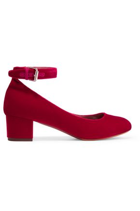 TABITHA SIMMONS Martha velvet pumps
