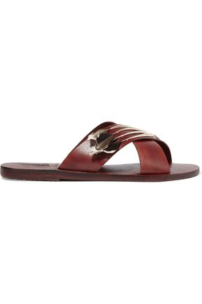 ANCIENT GREEK SANDALS Thais python slides