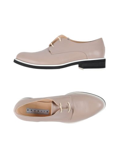 Фото - Обувь на шнурках от F.LLI BRUGLIA цвет голубиный серый