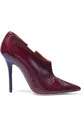 MALONE SOULIERS Gigi elaphe ankle boots