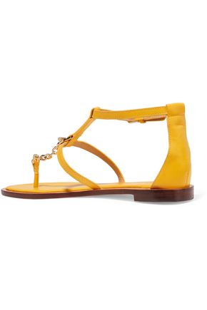 TORY BURCH Toggle leather sandals